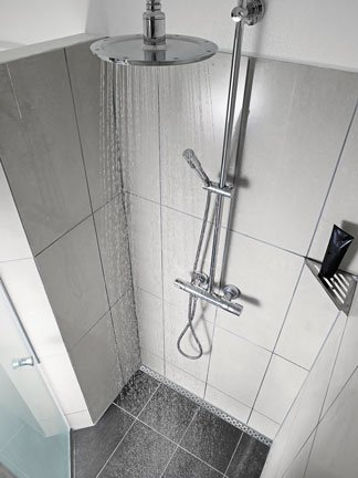 Quickdrain Proline Stainless Steel Linear Shower Drain Ideal